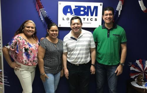 L&L International de Colombia Visit ABM Logistics in Panama
