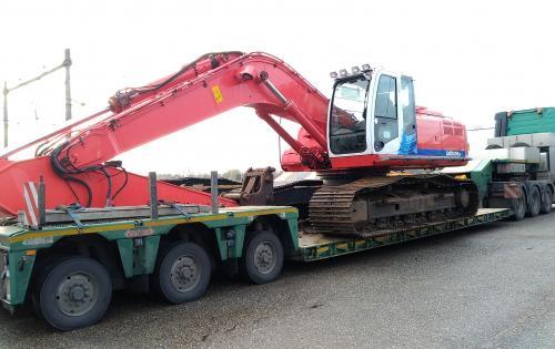 Europe Cargo Handle Hitachi Crane