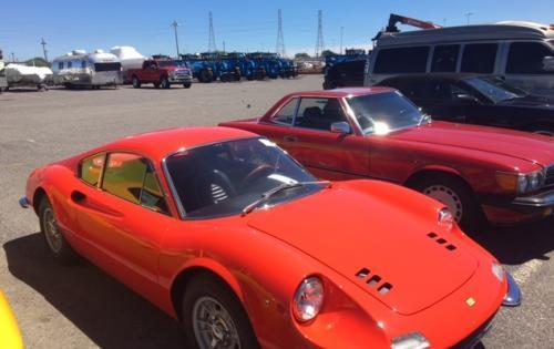 Europe Cargo Arrange Import of Vintage Ferrari