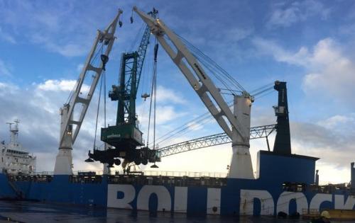 Europe Cargo Arranges the Double Port-Call of MV. Rolldock Storm