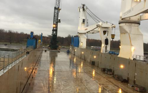 Europe Cargo Arranges the Double Port-Call of MV. Rolldock Storm