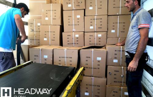 Headway Global with Full Service from Mersin to Iraq