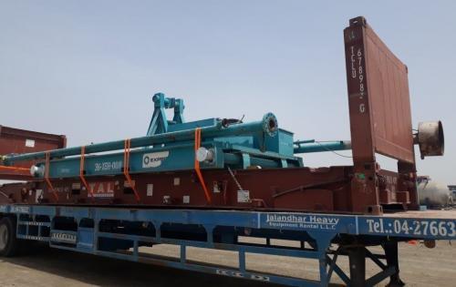 Fleet Line with Innovative Ideas for Handling OOG Cargo