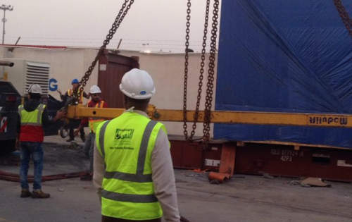 Al Nahrain Deliver OOG Machinery in Iraq