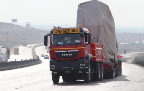 MAMQ Handles Transportation of 3 GenSets in Pakistan