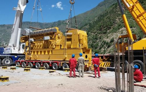 MAMQ Handles Transportation of 3 GenSets in Pakistan