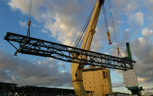 Project Shipping Deliver Long Conveyor Segments in Australia