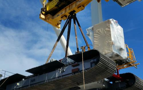 Project Shipping Delivers 13 Crawlers in Australia