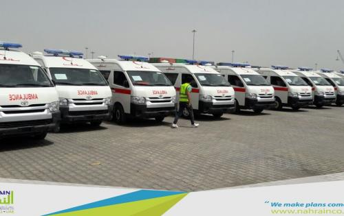 Al Nahrain Handle, Clear & Deliver Ambulances in Iraq