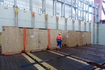 GRUBER Ships 4 Heavy Wooden Cases from Germany to India