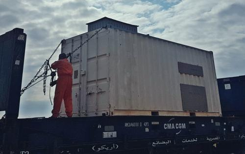 First Global Logistics with Drilling Equipment From Egypt to Croatia