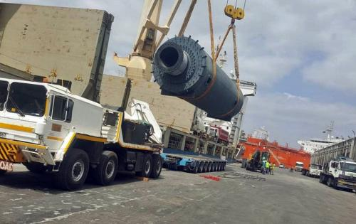 Sovereign Logistics Win Grinding Machinery Shipment