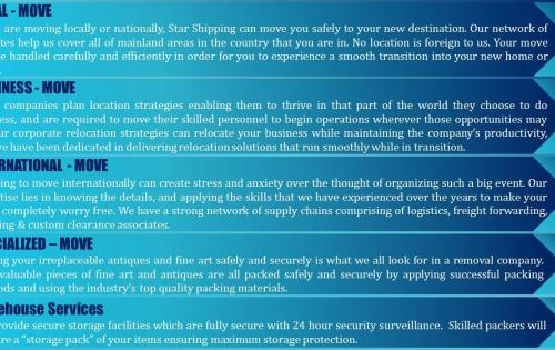 Star Shipping Launch Packing & Moving Services