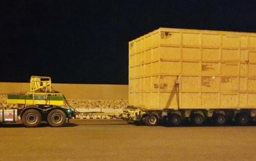 Turk Heavy Transport Complete Shipment for Alba Pot Line 6