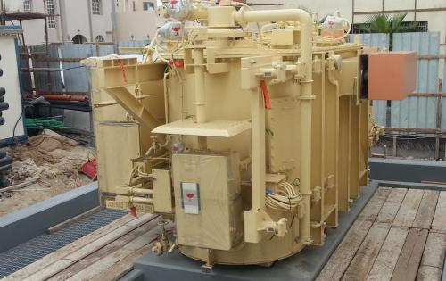 Turk Heavy Transport Deliver Transformers to Eskan Substation