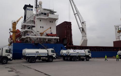 Origin Logistics Work with Conveyor Logistics on UN Project