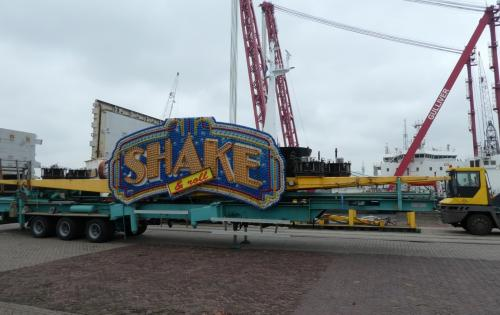 Spark Global Logistics Belgium Handle Shipment of Amusement Rides