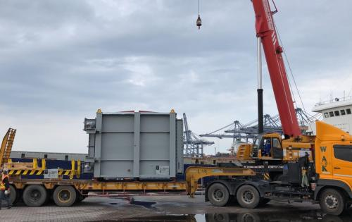 Cuchi Shipping Handle Transport of Waste Heat Recovery Unit