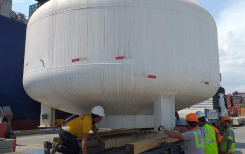Origin Logistics Deliver Machinery for Iron & Steel Plant