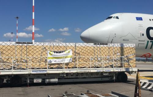Thruex Handle Heavy Air Shipment from Italy to China