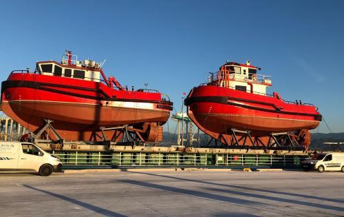 Element International Arrange Shipment of Tug Boats