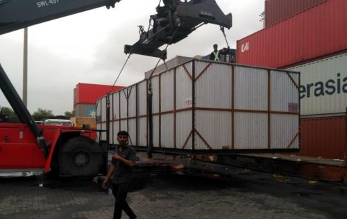 Green Channel Handle Project Cargo Machinery in India