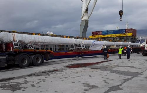 Element International with Transportation of Masts