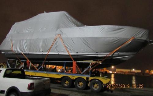 DC Logistics Brasil Handle 56' Yacht