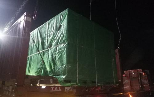 Green Channel Forwarders Deliver Windmill Turbines in India