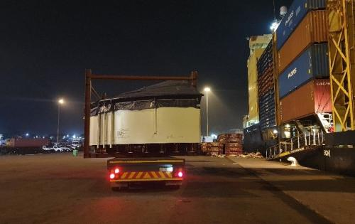 NATCO with Another Delivery of OOG Cargo for Beverage Industry