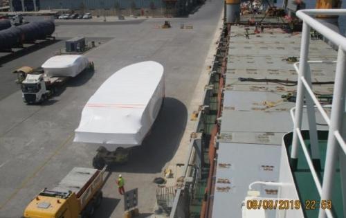 Wilhelmsen UAE Handle FRP Shipment to Bangladesh