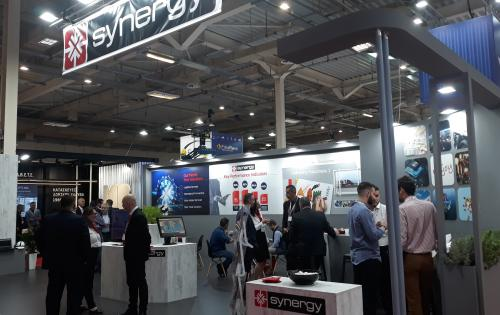 Synergy Exhibit at Supply Chain & Logistics Fair in Athens