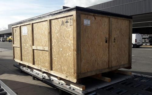 Europe Cargo with 6930kg Airfreight Shipment to Qingdao