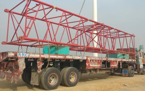Star Shipping Deliver 400tn Crawler Crane in Pakistan