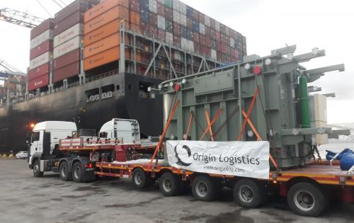 Origin Logistics with Loading of 2 Transformers in Turkey