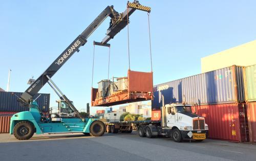 CMX Global & Goodrich with Australia to Kazakhstan Project