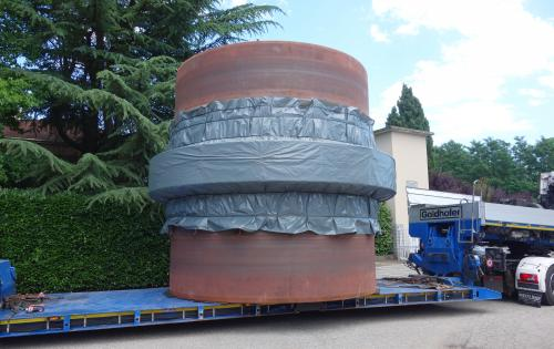 Fortune Italy Reports their Latest Heavy Cargo Movement