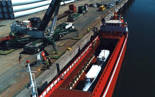 3p Logistics Handle Two OOG Pressing Units