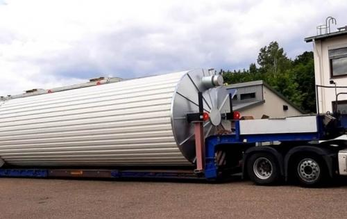 KGE Baltic with Delivery of 3 Industrial Silos