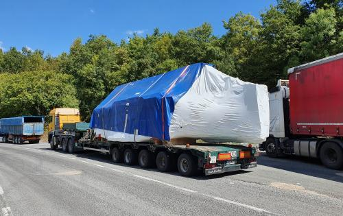 KGE Baltic Handle Multimodal OOG Delivery to Russia