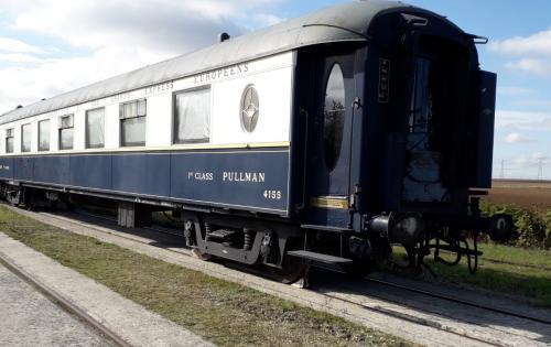 Wirtz Reports Shipment of 4 Historical Rail Wagons