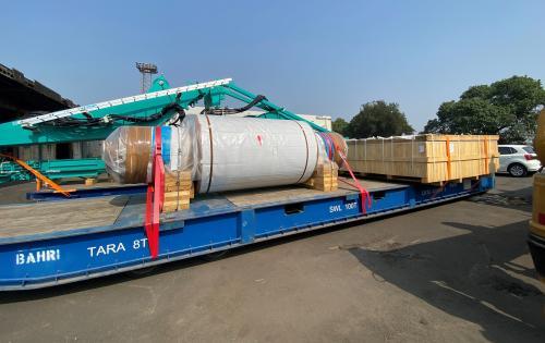 Green Channel Forwarders Handle Breakbulk Shipment of Rotors