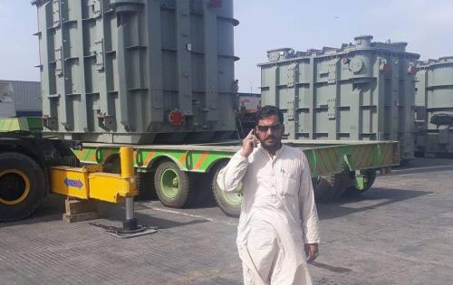 Star Shipping Pakistan Delivers Transformers to Kabul