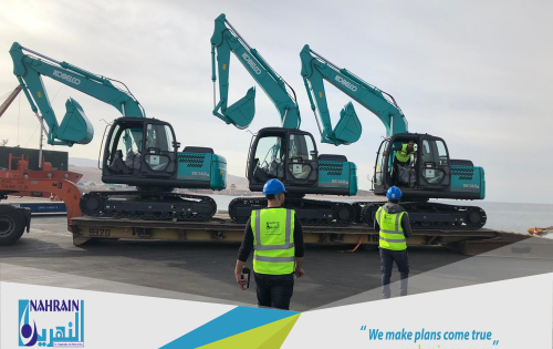AlNahrain Complete Comprehensive Vehicle shipment in Jordan.