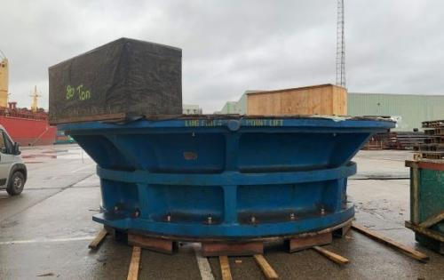 Europe Cargo Ship Crusher from Antwerp to Trois-Rivières