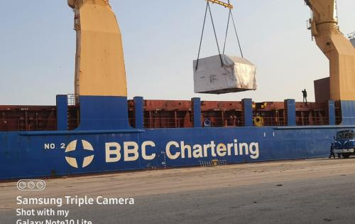 Star Shipping Coordinates Petroleum Project Cargo at Port Qasim