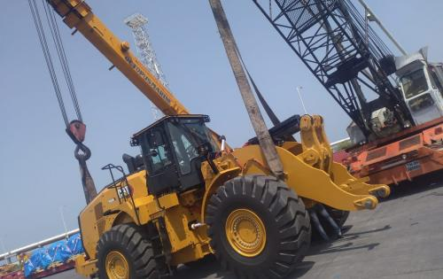 Green Channel Smoothly Handle Another Wheel Loader
