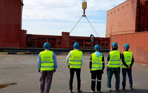BSMG Report their Latest Operations at Port Nouakchott