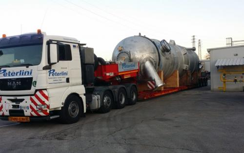 Livo Logistics with Transportation of Reactor from Italy to Belgium