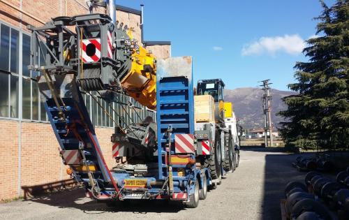 Livo Logistics Handles Mobile Cranes from Italy to North Africa